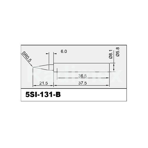 Човка за поялник SI131-B