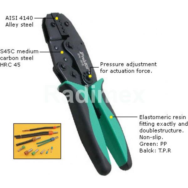 Клещи за кримпване 6PK301E