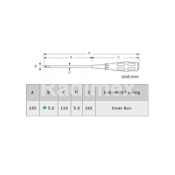 Отвертка PK9416A