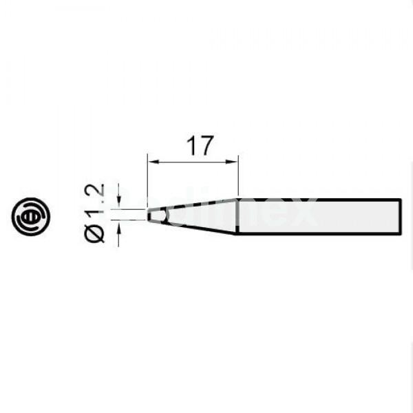 Човка за поялник SI216N-1.2D
