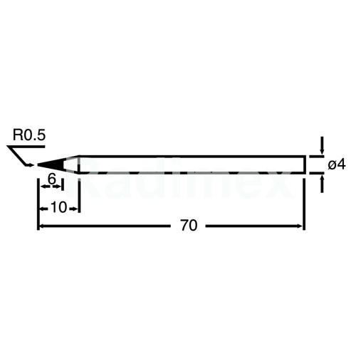 Човка за поялник PKS120-4B