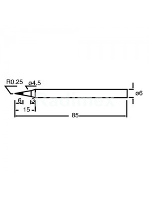 Човка за поялник PKS120-6SB