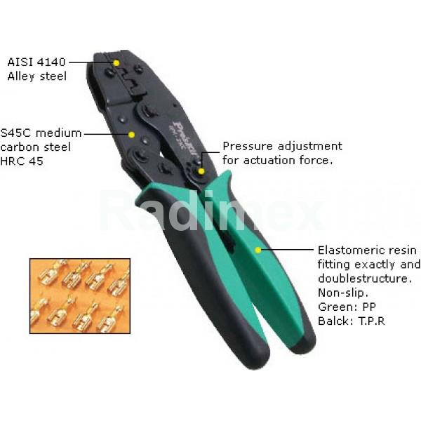 Клещи за кримпване 6PK230C