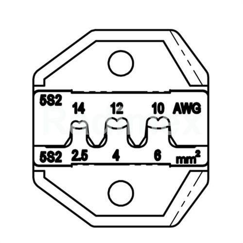 Челюсти за соларен конектор MC4 CP5S2D