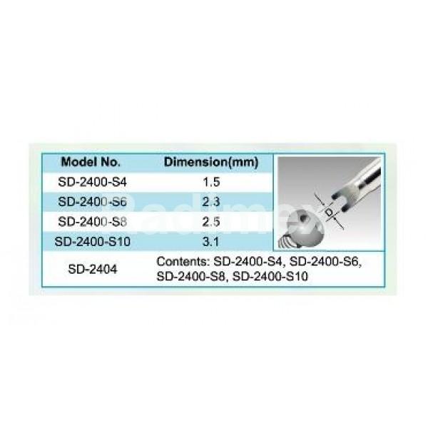 К-т от 4бр. отвертки тип вилка SD2404