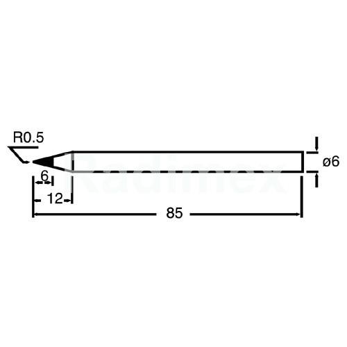 Човка за поялник PKS120-6B